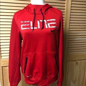 Red Nike Elite Hoodie